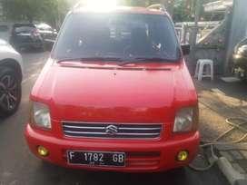 Suzuki karimun GX 2004 merah metalik