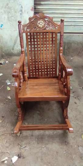 Brand new Rocking Chair made with Pure Shisham Solid wood at Jahapanah