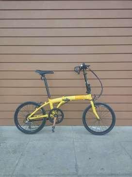 Sepeda lipat polygon b2w