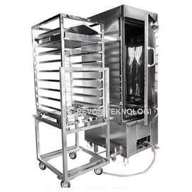 Mesin steamer makanan alat pengukus roti & brownies kukus Tarakan