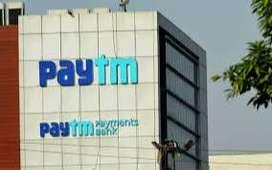 Paytm process hiring for BPO/ KYC jpbs/ Field boys/Sales Executive.