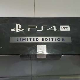 Sony PlayStation PS4 pro limited edition with 2 controller