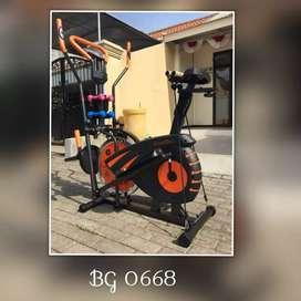 Sepeda Statis Orbitrack Bike 5 Fungsi// Eugen JQ 13T38