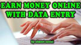 Earn 45k per month- Part/Full Time - Data entry/Typing jobs-Apply NOW.