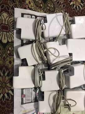 Macbook air and pro original charger 45,60,85 w available in bulk