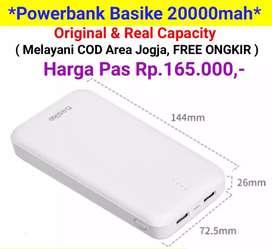 Powerbank BASIKE 20000mah ( COD JOGJA )
