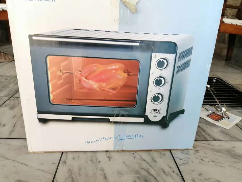 OTG Oven -with Baking, Broil, Toast, and Rotisserie /Kabab Functions