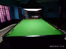 Biliards and snooker table