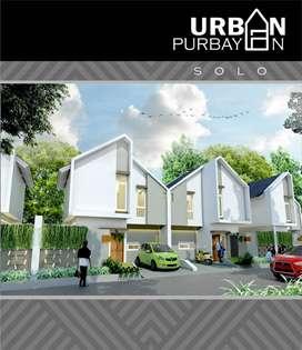 Rumah 2 Lantai Konsep Town House Dekat Mall Luwes Gentan