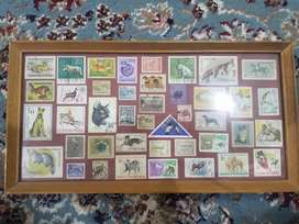 1950s Mongolian stamps