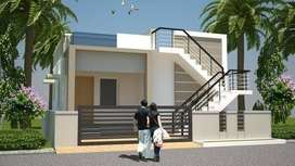 2BHK independent houses for sale diwancheruw and kolamuru 32lacs
