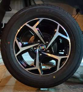 "Brand New Alloy Wheels 15"" for Venue, Innova, Ertiga."