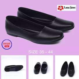 Sepatu Flat Pantofel Kantor Wanita Size 35-44 Original Eramsis TR 003