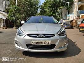 Hyundai Verna 2011-2014 SX CRDi AT, 2014, Diesel