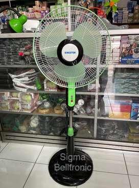 Kipas angin berdiri 16 inch Kingston Stand fan Kaki bulat kokoh kuat