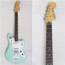 Squier by Fender Jaguar Vintage Modified made in Indonesia tahun 2016