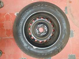 Nissan micra CVT spare tyre with wheel.. unused