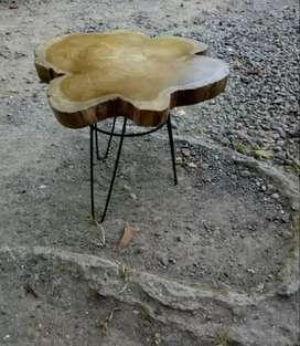 Meja stool kayu jati