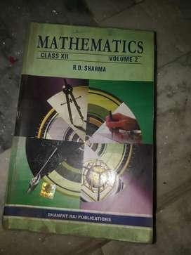 Class 12 Rd sharma vol 2