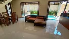 Disewakan Villa Seminyak 3 BR furnished dengan private pool