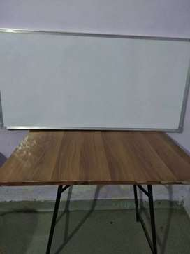 White board and Table