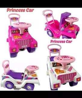 Mainan mobil dorong princes baru