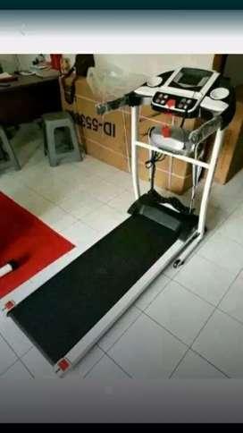 Alat fitnes/treadmill elektrik baru