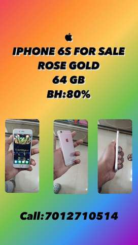 IPHONE 6S FOR SALE @ 9 K ONLY