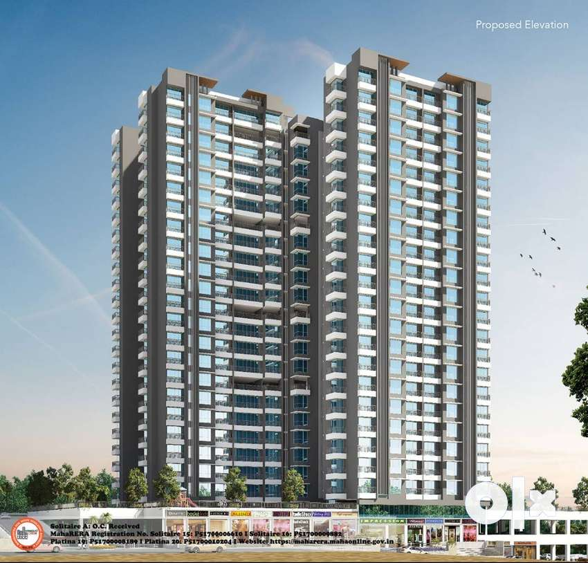 2 BHK Flats for Sale -The Wadhwa Elite in Kolshet Road, Thane 0