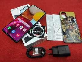 SAMSUNG A71 8/128GB LENGKAP MULUS. BS TT