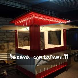 Container makanan/container usaha/container dagang/container bazzar