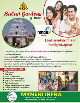 HMDA Approved Plots for Sale At Rudraram