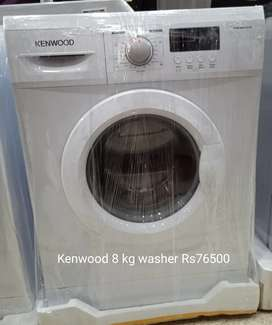 Kenwood automatic washer front load 8 kg available