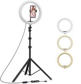 Tripod with led ring