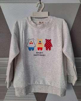 Sweater Switer Anak Motif Beruang Teddybear