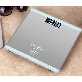 Timbangan Badan Digital Indikator Iscale SE Kaca Scale Suhu Elektronik