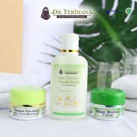 Skincare Halal BPOM Paket Ekonomis Brightening by dr. Ferihana