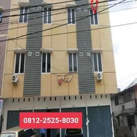 Ruko murah 3 lantai di pusat bisnis kota Palembang