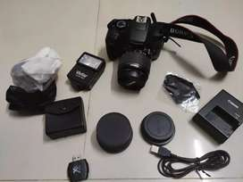 Canon DSLR Camera Rebel T6 (with Macro and Fish-eye lens)