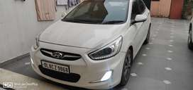 Verna sx(optional) top model clean , well maintained car