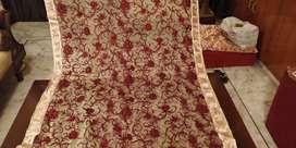 Designer net sarees branded