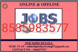 Home based job for freshers housewives and all earn moneys