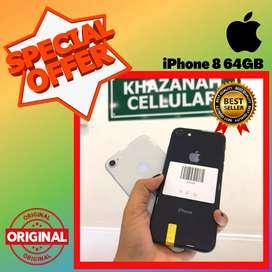 BISA TUKAR - TAMBAH !! SECOND IPHONE 8 64 GB - EKS INTER