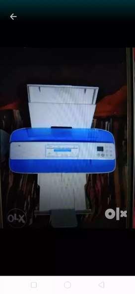 Printer company is HP.