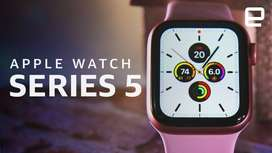 Apple Watch Series 5 44mm SportBand GPS New Ori SeDia KreDitan DP3JT