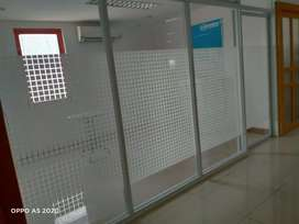 penyekat alumunium kantor