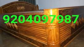 AT WHOLESALE PRICE WOODEN DOUBLE BOX BED SIZE 5/6.5