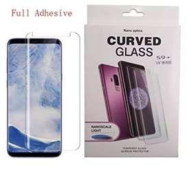 Temperd glass UV nano Samsung S9 plus