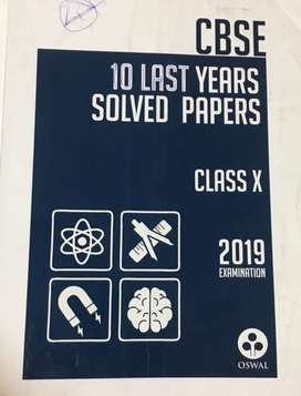 Class 10th last 10 years Solved question papers