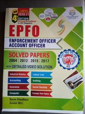 EPFO  EO-AO book